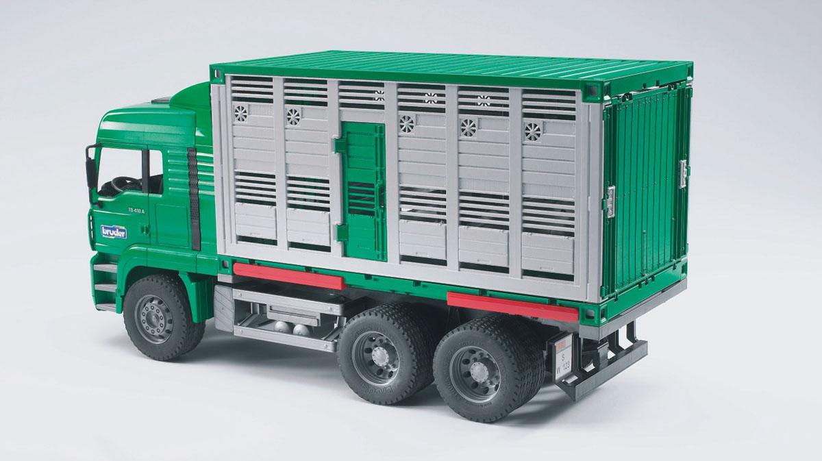 Bruder Фургон MAN для перевозки животных