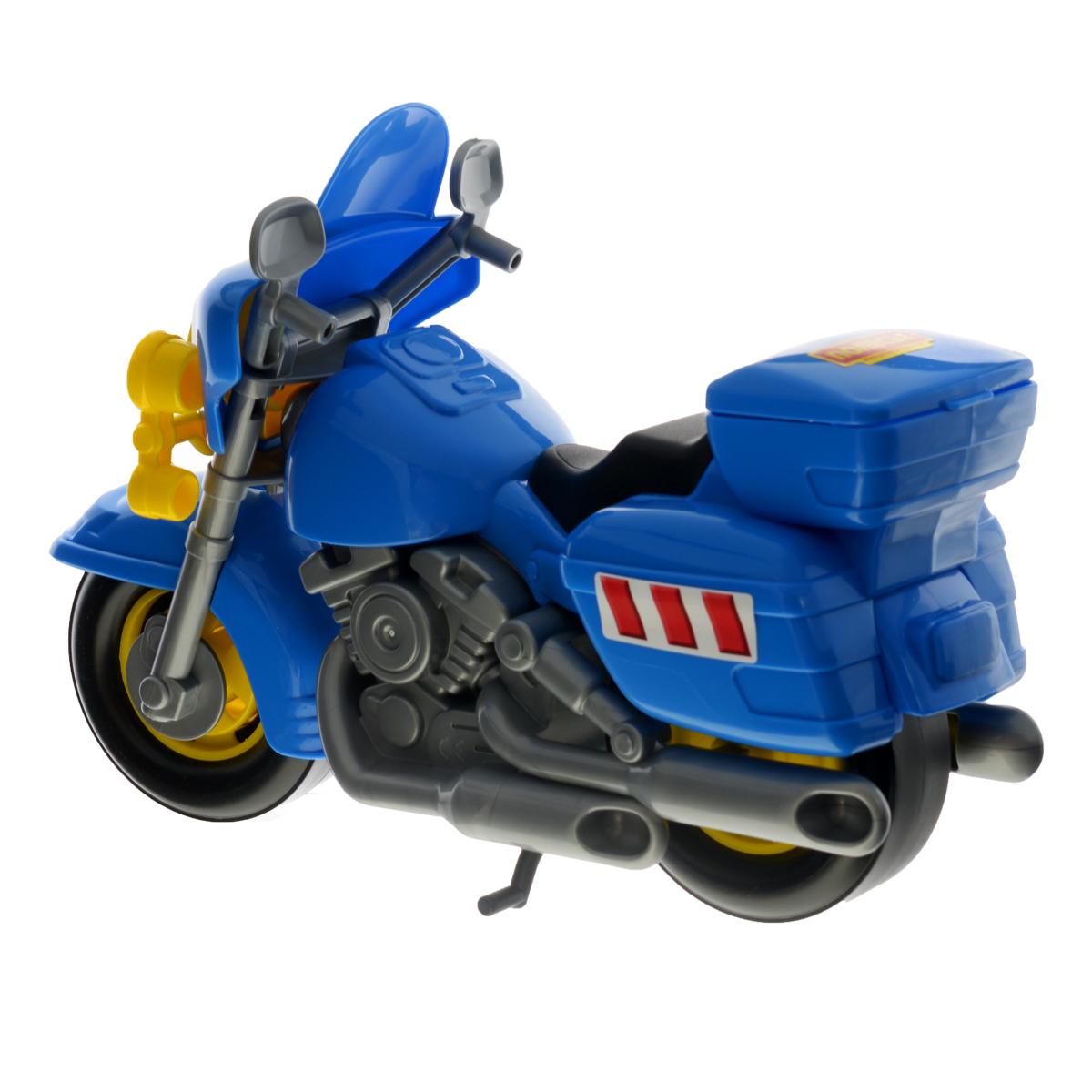 Полесье Полицейский мотоцикл Харлей цвет синий