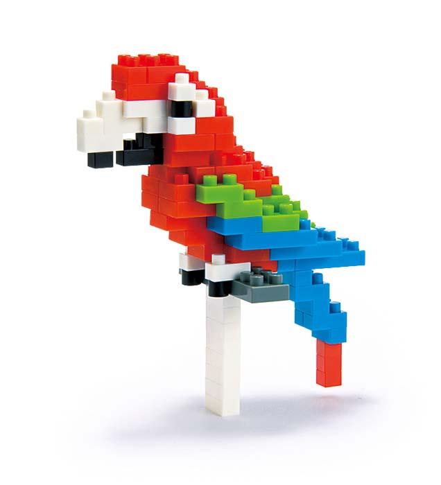 NanoBlock Мини-конструктор Зеленокрылый ара ( NBC_034 )