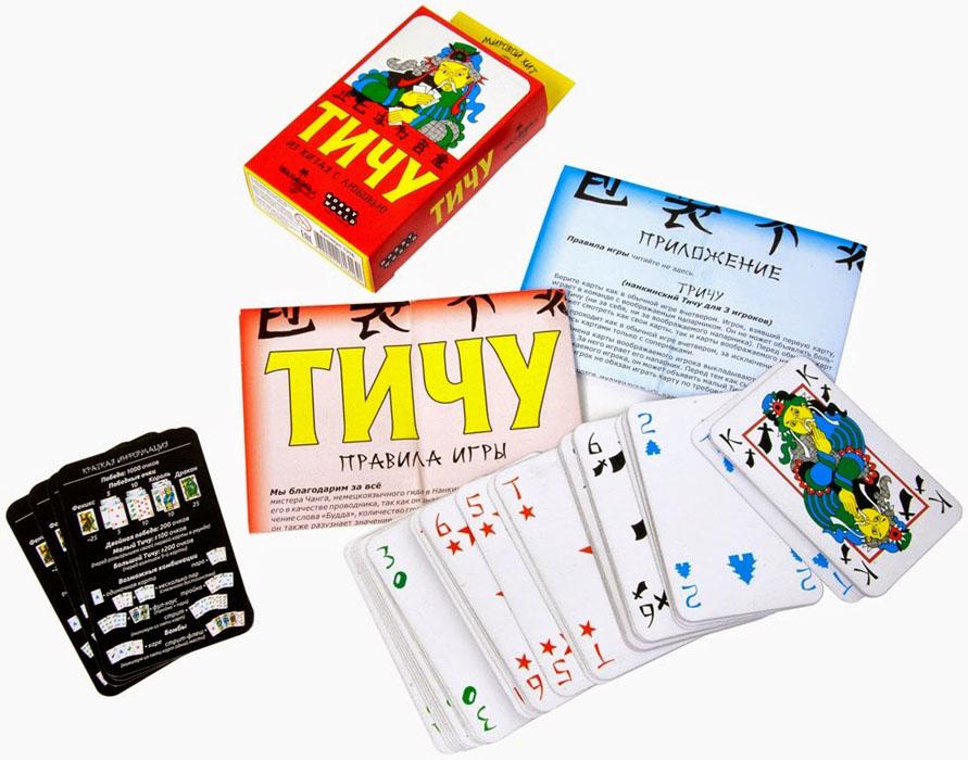 Hobby World Настольная игра Тичу ( 1316 )