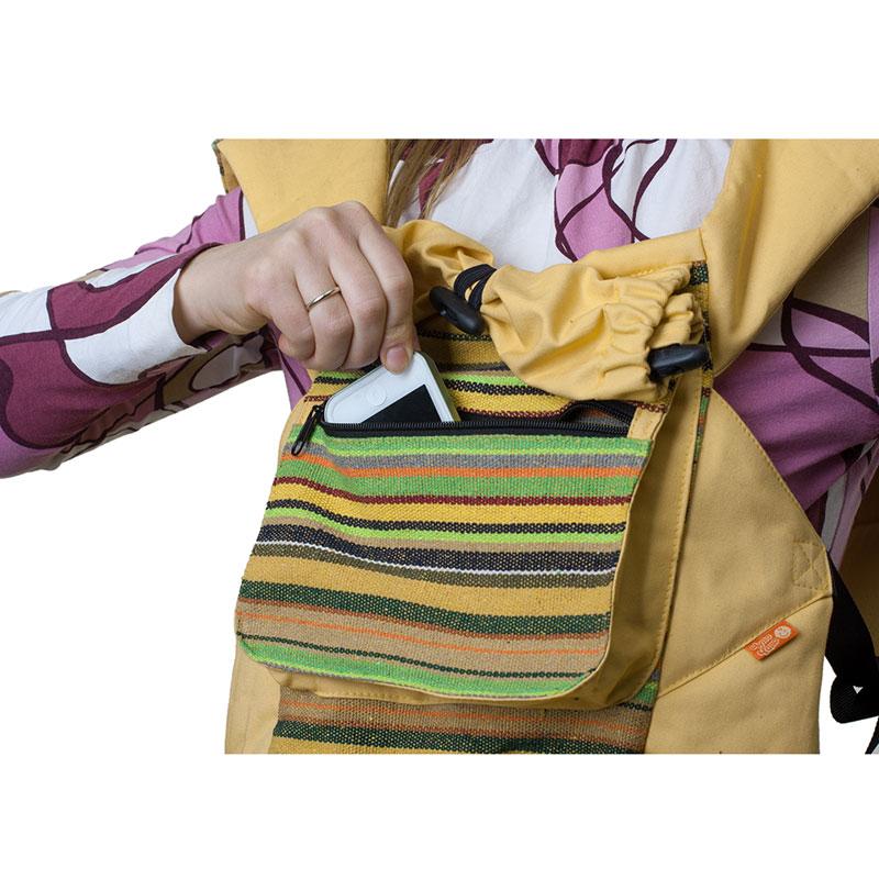 """Слинг-рюкзак Чудо-Чадо """"Уичоли"""", цвет: светло-желтый"""