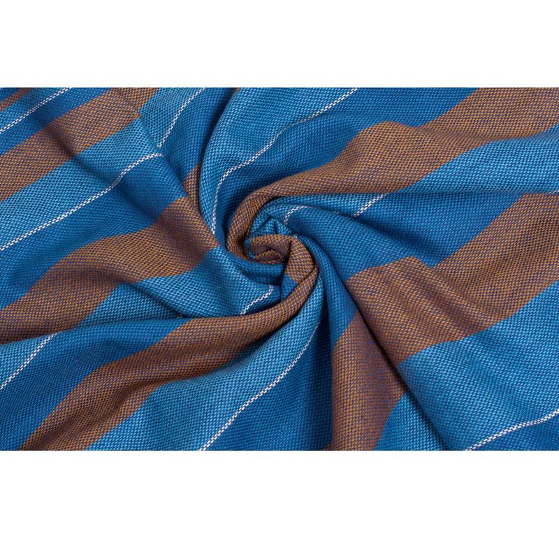 "Слинг-шарф Чудо-Чадо ""Lamis"", с шелком, цвет: индиго, 512 см х 51 см"