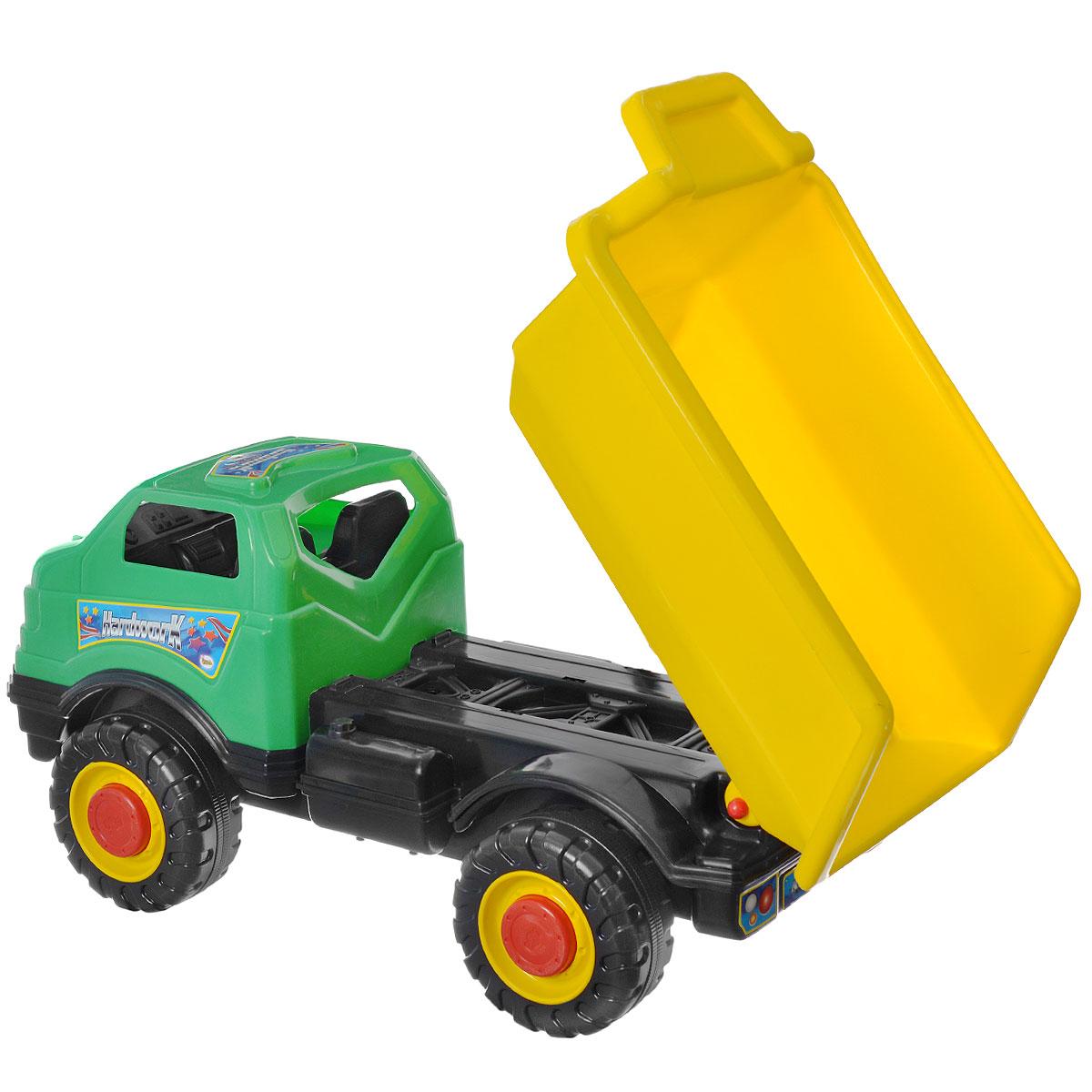 AVC Супергрузовик цвет желтый зеленый