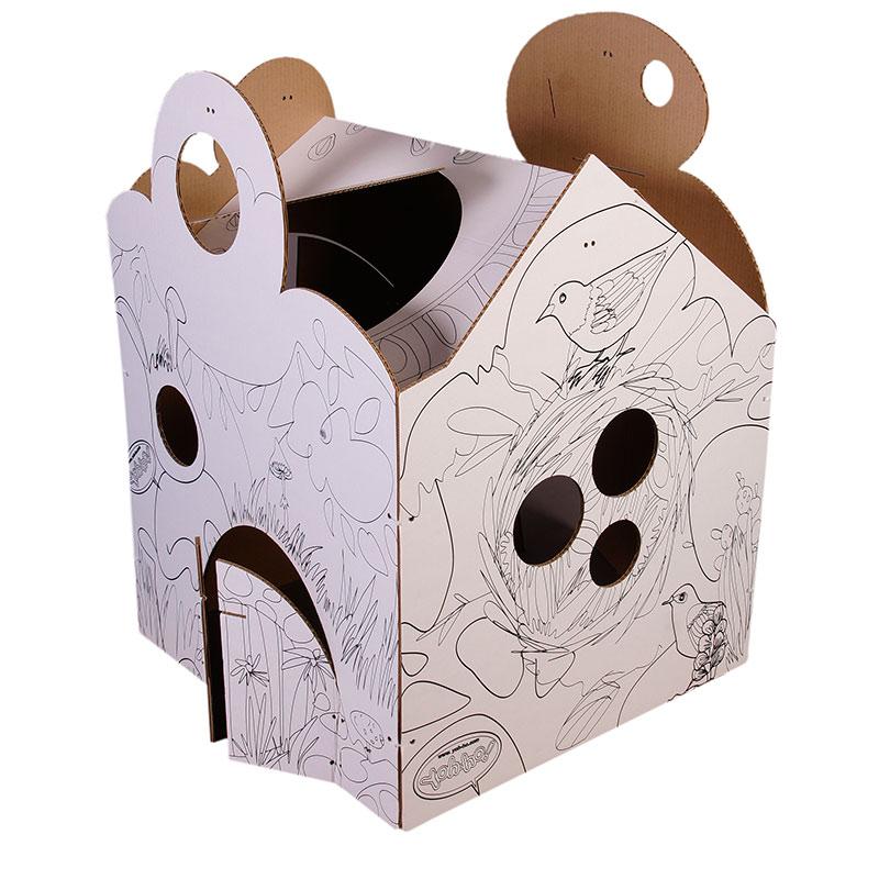 Детский домик-ширма с раскраской и игровым реквизитом Фэнтези - 4
