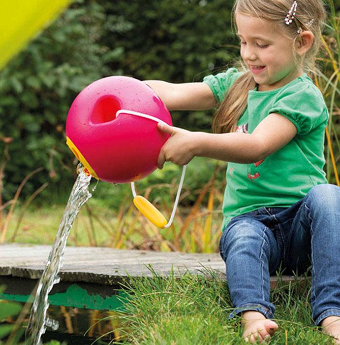 Quut Ведерко для воды Ballo цвет малиновый