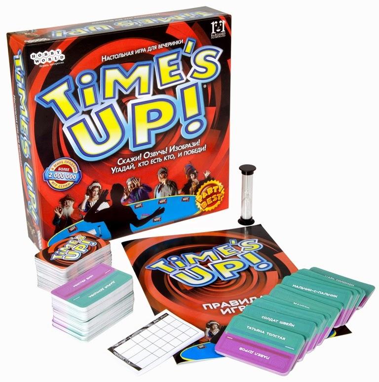 Hobby World Настольная игра Time\'s Up! ( 1391 )