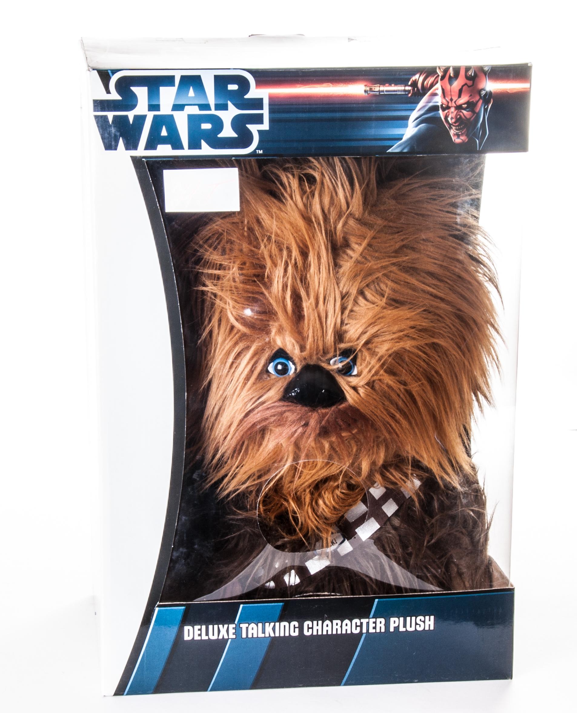 Star Wars Игрушка StarWars Чубакка плюшевый со звуком - 2
