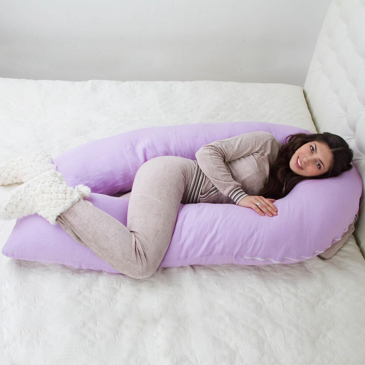 Как спать на подушке для беременных u 40