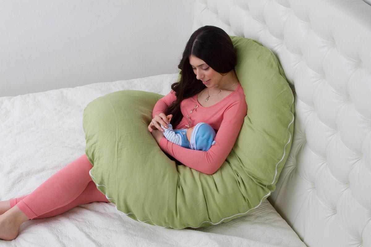 Как спать на подушке для беременных u 58
