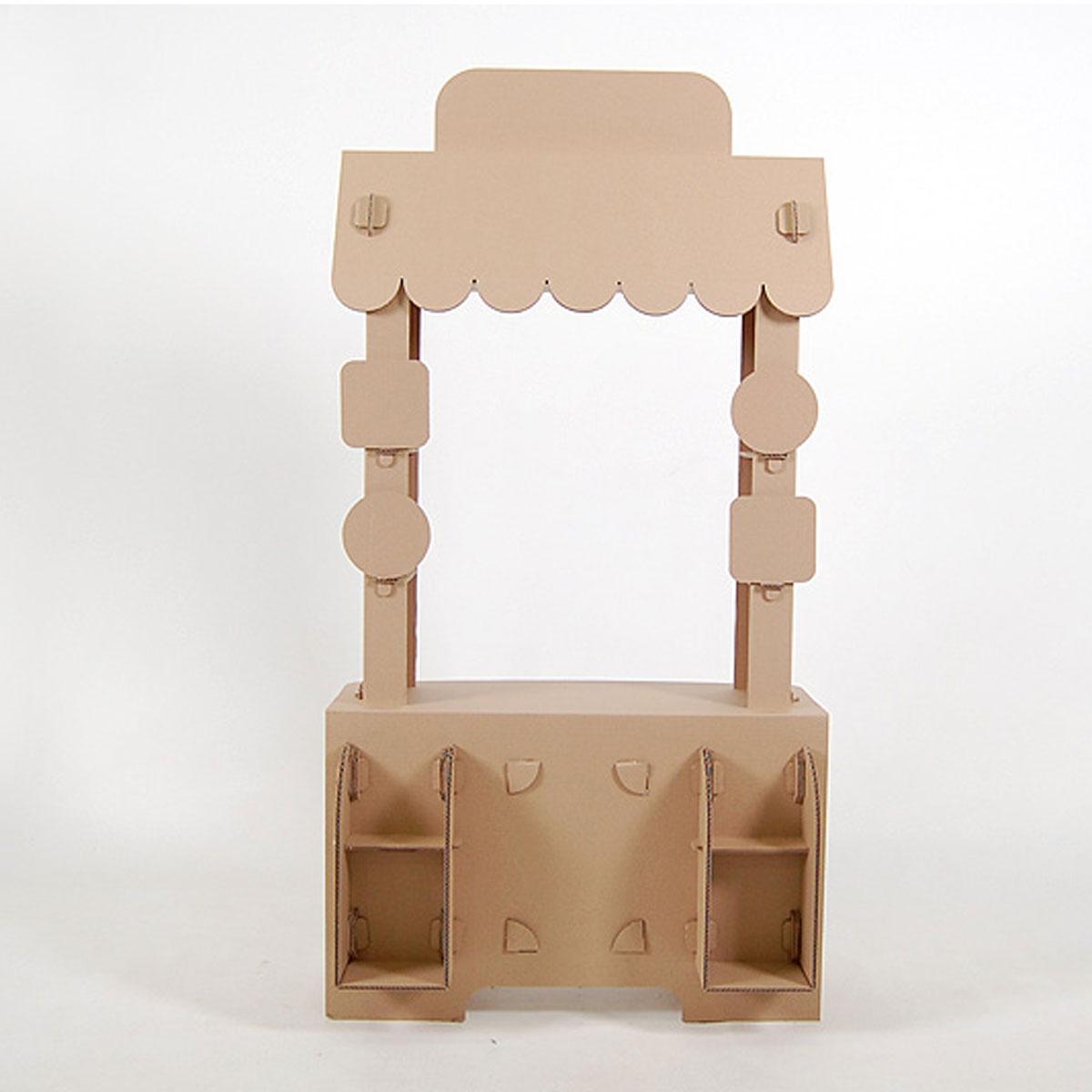 Домик из картона `Кафе  ...