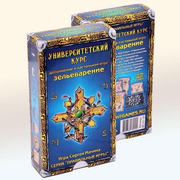 Hobby World Дополнение к настольной игре Зельеварение Университетский курс ( 05-01-02 )