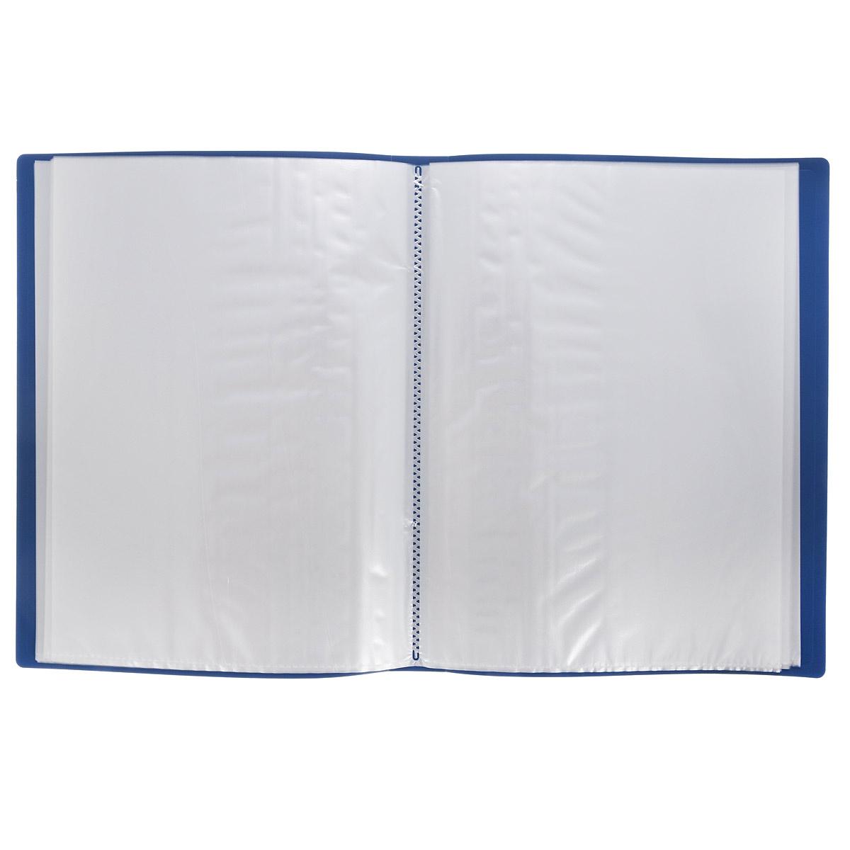 Папка с файлами Centrum Visit, пластиковая, 60 листов, формат А4, цвет: черный80037Папка Centrum Visit с 60 прозрачными вкладышами-файлами предназначена для хранения и презентации документов формата А4. Папка изготовлена из полупрозрачного фактурного пластика, благодаря чему документы, помещенные в нее, будут надежно защищены. Прочное соединение папки и вкладышей обеспечено за счет их лазерной сварки. Углы папки закруглены. Папка надежно сохранит ваши документы и сбережет их от повреждений, пыли и влаги.