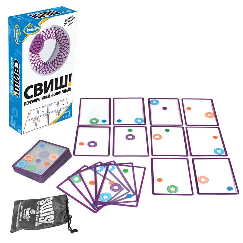 Thinkfun Настольная игра Свиш! Переворачивай и совмещай ( 1512-RU )