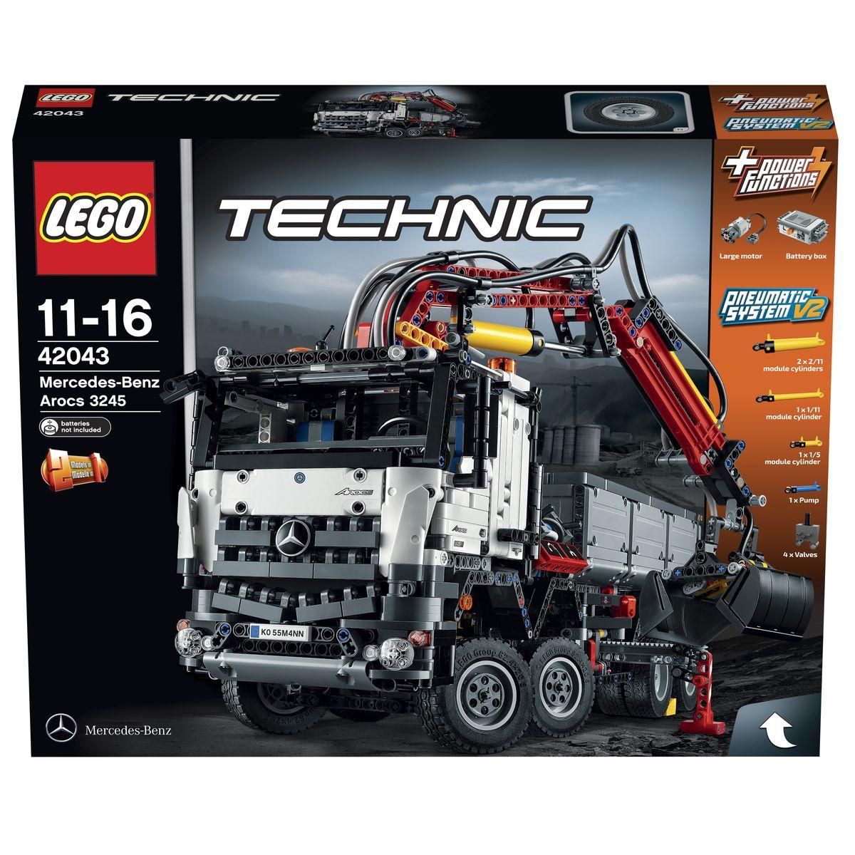 LEGO Technic Конструктор Mercedes-Benz Arocs