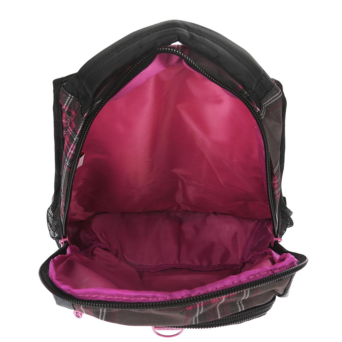 Рюкзак городской Grizzly, цвет: клетка фуксия, 24 л. RD-521-1/6 ( RD-521-1/6 )