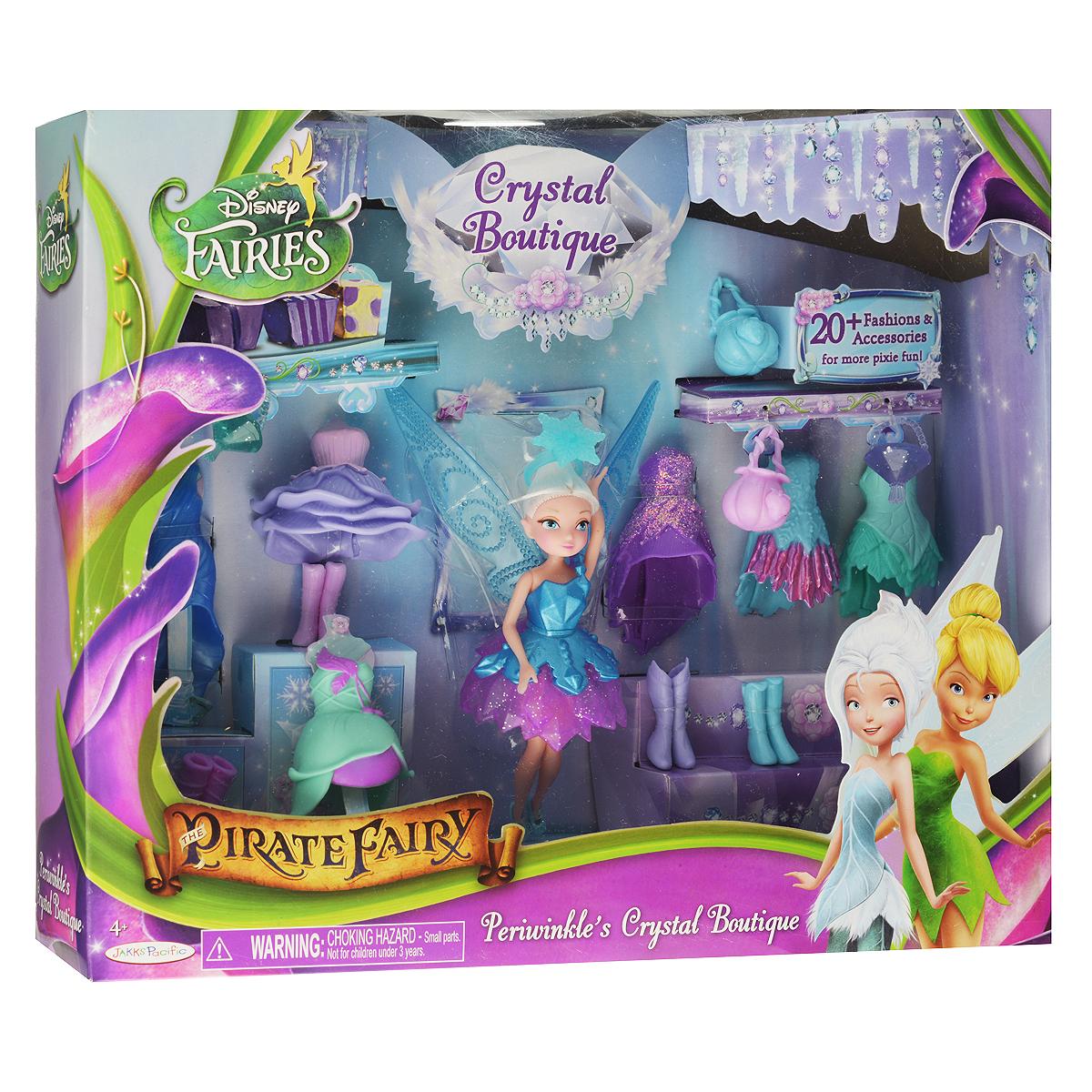 """Кукла Disney Fairies """"Periwinkle's Crystal Boutique"""", с аксессуарами, 14 см"""