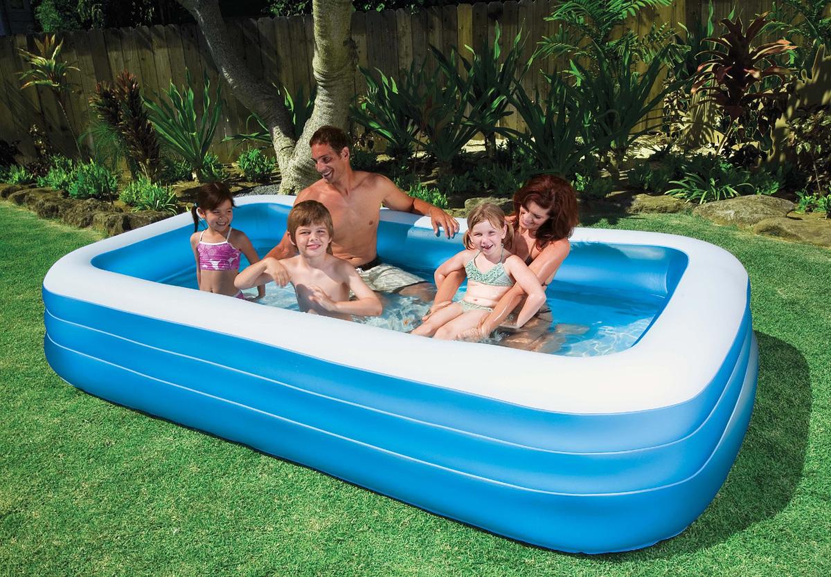 """Бассейн надувной Intex """"Swim Center"""", цвет: голубой 305 см х 183 см х 56 см"""