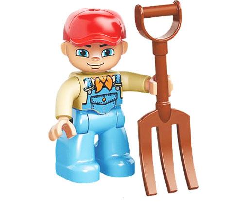 LEGO DUPLO Конструктор Большая ферма 10525 ( 10525 )