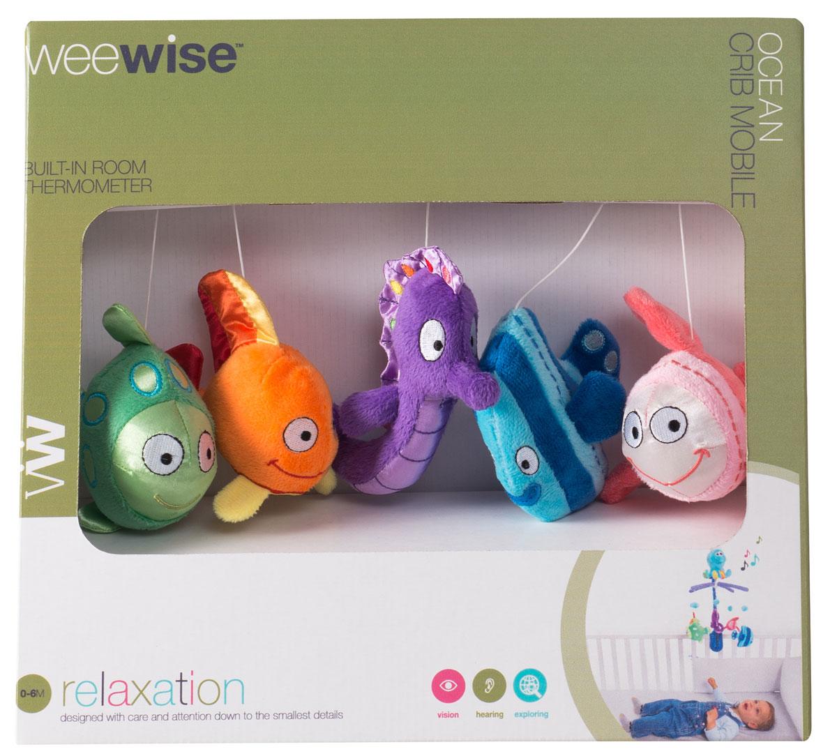WeeWise Мобиль для детской кроватки `Океан`
