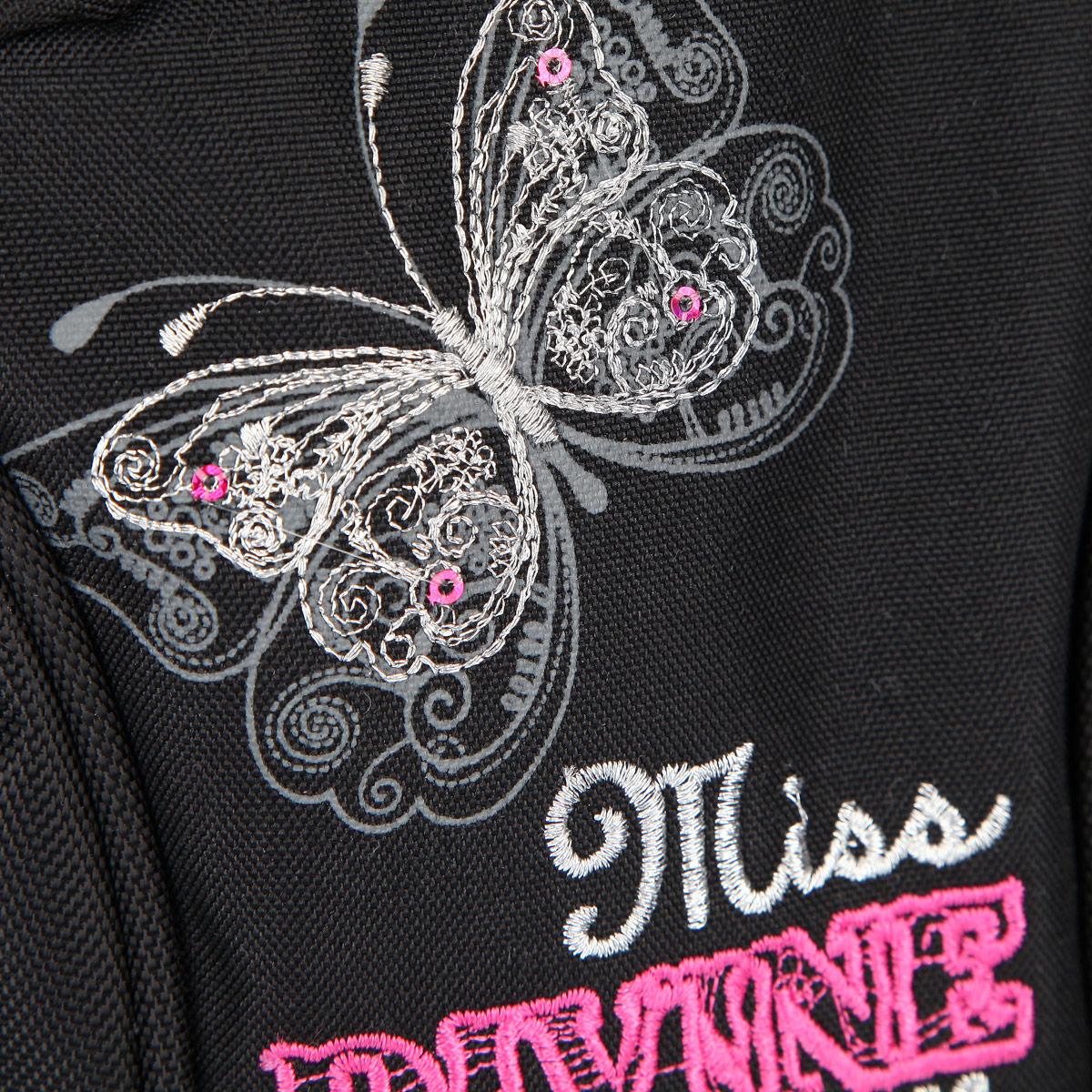 """Рюкзак школьный Steiner """"MISS DIVINE"""", цвет: розовый, черный. 12-252-3"""