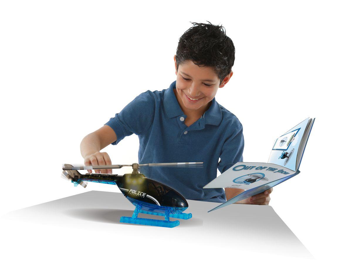 Игрушка - Вертолет с книжкой и пультом