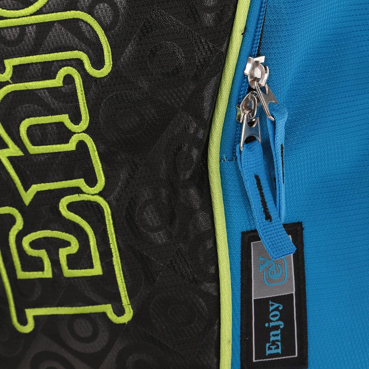"""Рюкзак Proff """"Enjoy"""", цвет: синий, черный, зеленый. PF201443"""
