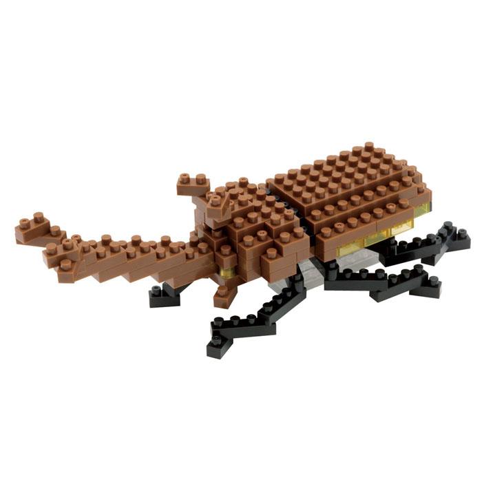Nanoblock Мини-конструктор Жук-носорог ( IST_003 )