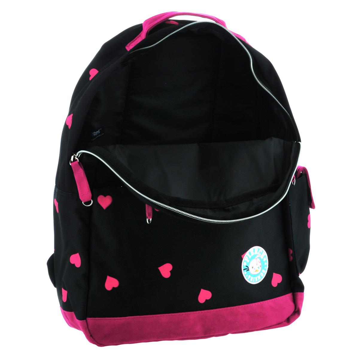 """Рюкзак молодежный Angry Birds """"Stella"""", цвет: черный, темно-розовый. NRk_00632 ( NRk_00632 )"""