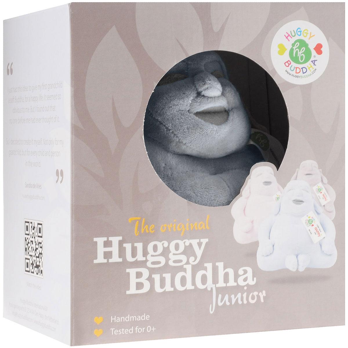 """Мягкая игрушка Huggy Buddha """"Junior"""", цвет: голубой, 18 см - 2"""