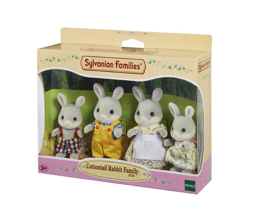Sylvanian Families Набор фигурок Семья серых Кроликов