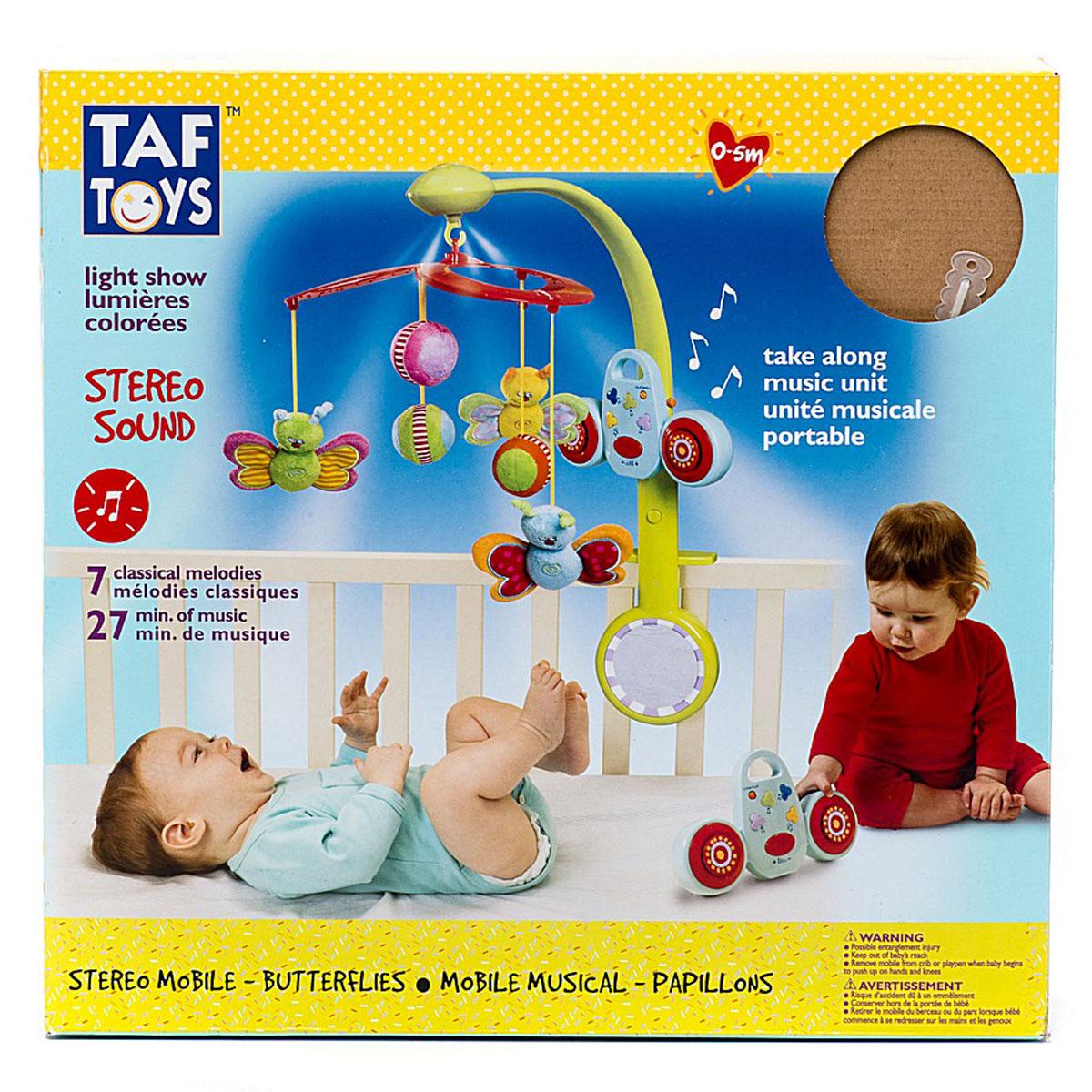 Taf Toys Музыкальный мобиль Бабочки