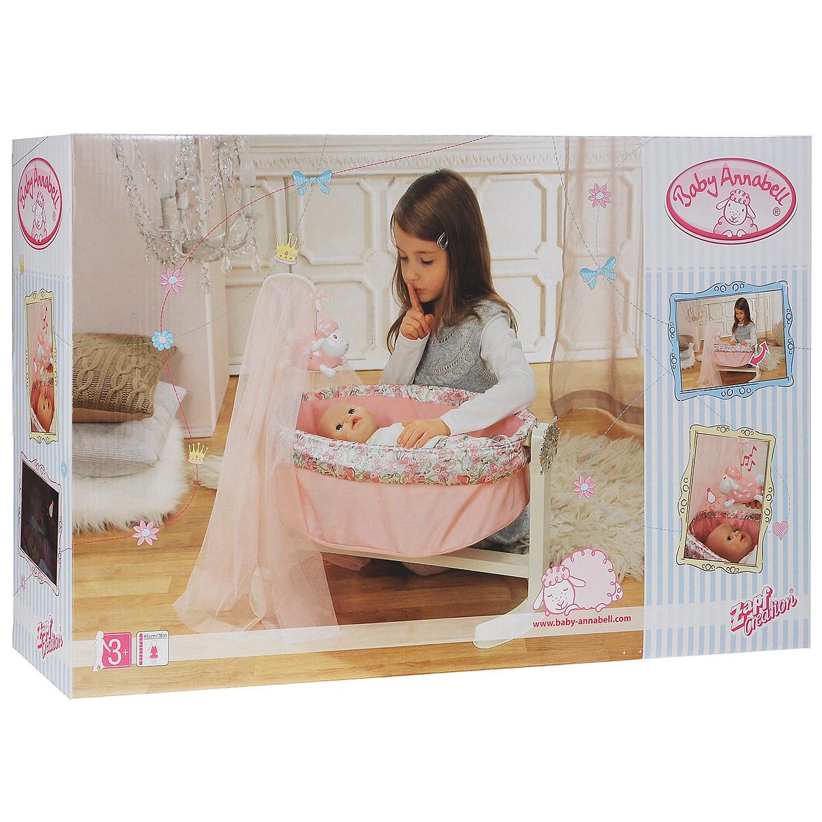 Baby Annabell Колыбель с ночником