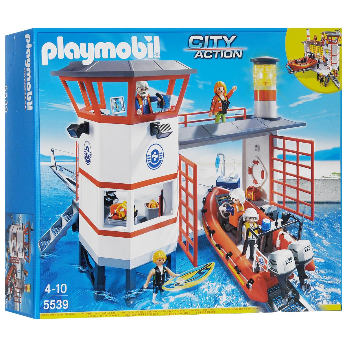 """Playmobil Игровой набор """"Береговая станция с маяком"""""""