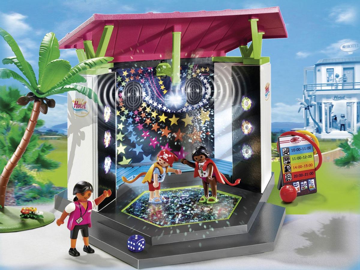Playmobil Игровой набор Отель Детский клуб с танцплощадкой