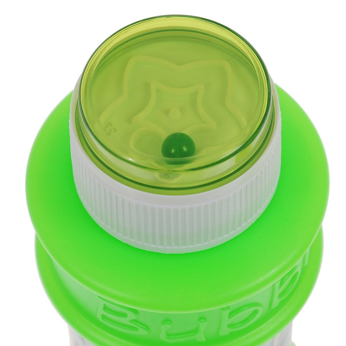 """Веселая затея Мыльные пузыри """"Disney: Винни и его друзья"""", 175 мл, цвет: зеленый"""