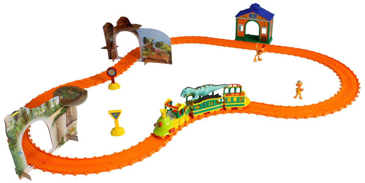 Tomy Игровой набор Поезд Динозавров: Большое дино-путешествие