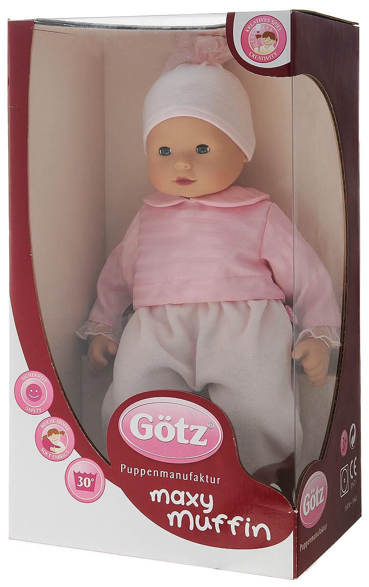 Gotz Пупс Макси-маффин цвет шапки розовый