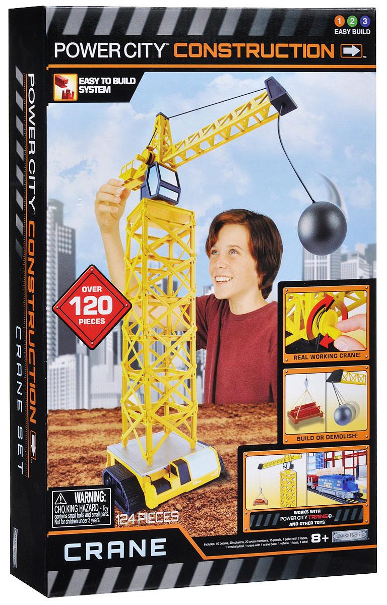 PowerTrains & Constructions Игровой набор Подъемный кран