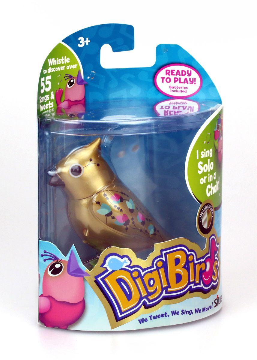 Digifriends Интерактивная игрушка Золотая птичка с кольцом