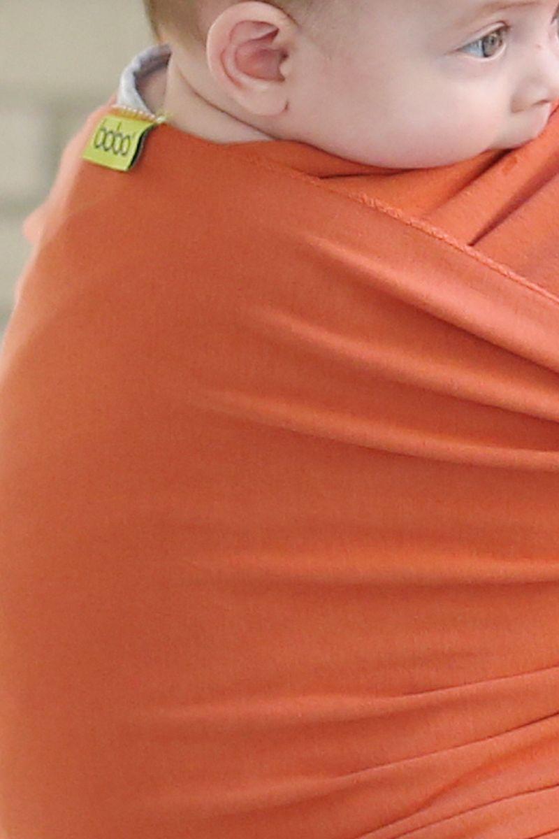 Трикотажный слинг-шарф Wrap Orange - 2