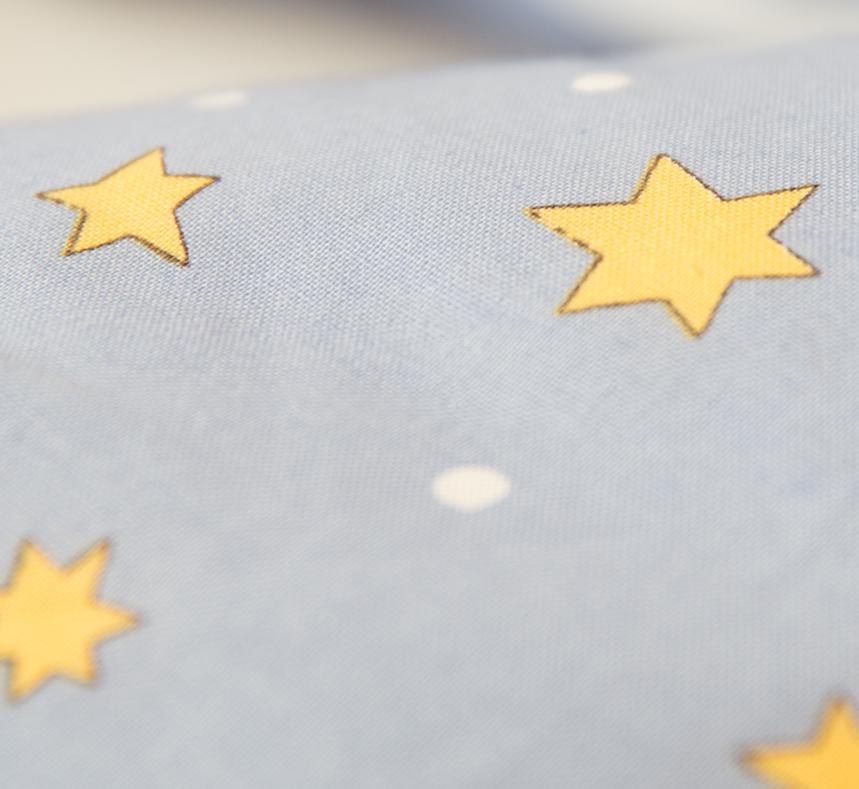 Velina Подушка для беременных и кормления Золотые звездочки