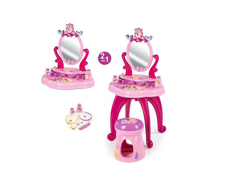 Smoby Студия красоты Принцессы Диснея со стульчиком