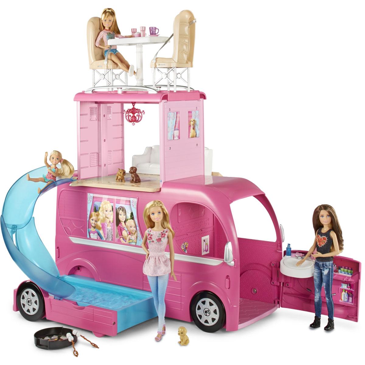 Barbie Игровой набор Новый фургон для путешествий