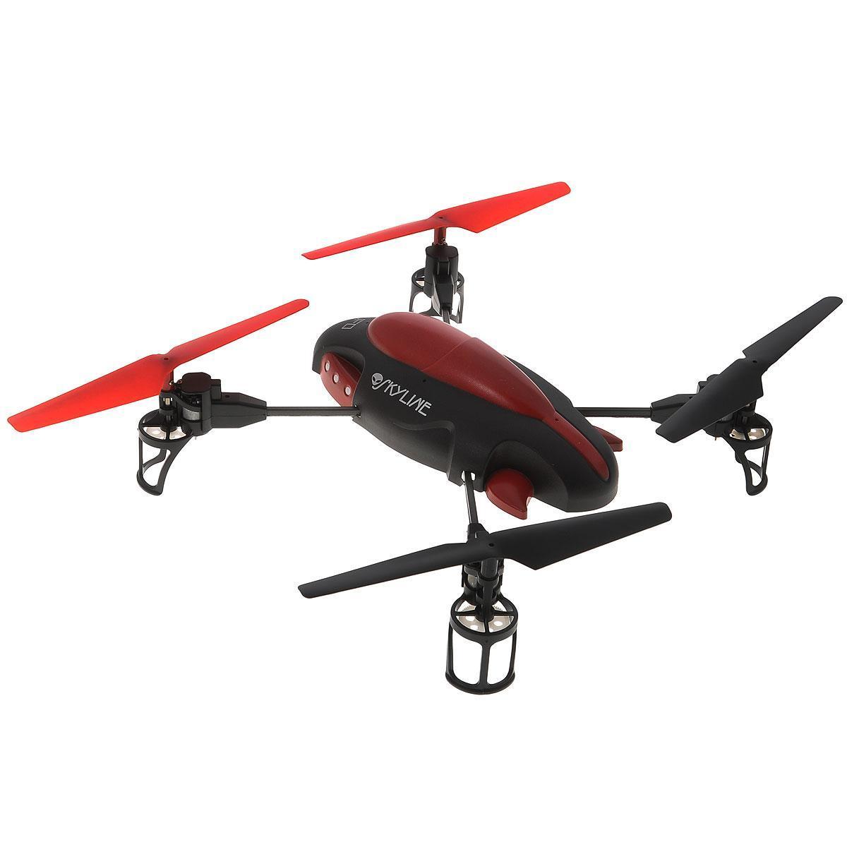 Concord Toys Квадрокоптер на радиоуправлении UFO цвет черный красный