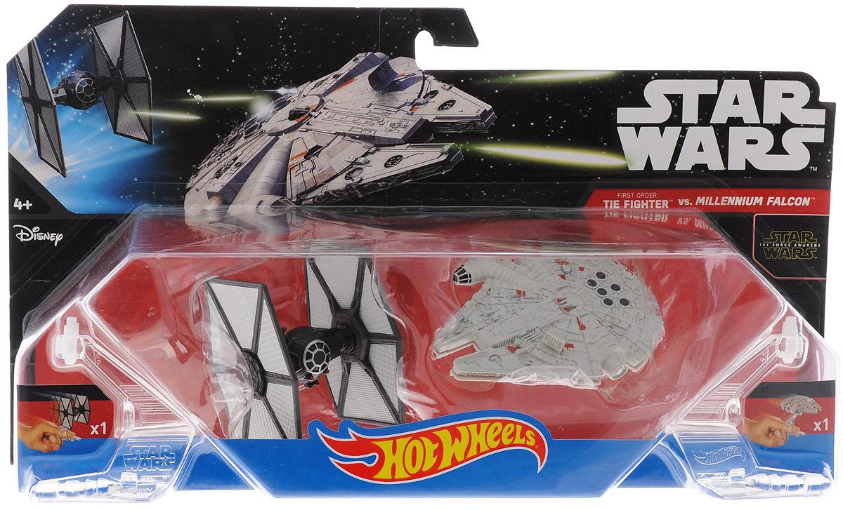 Hot Wheels �������� ������� Star Wars Tie Fighter vs Millennium Falcon