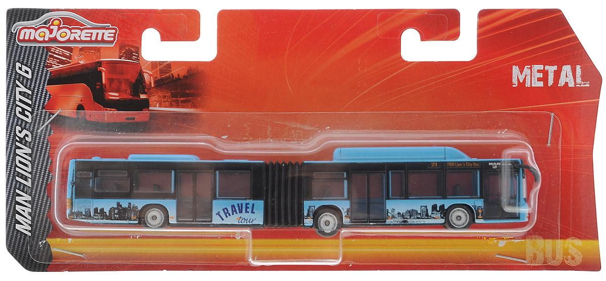 Majorette Городской автобус цвет голубой