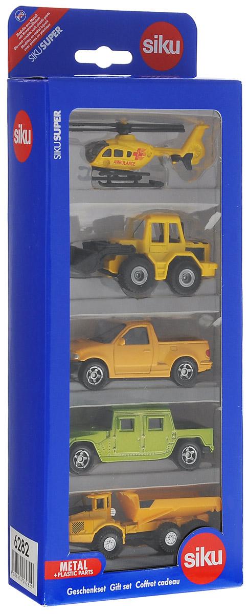 Siku Игровой набор Транспорт цвет желтый салатовый