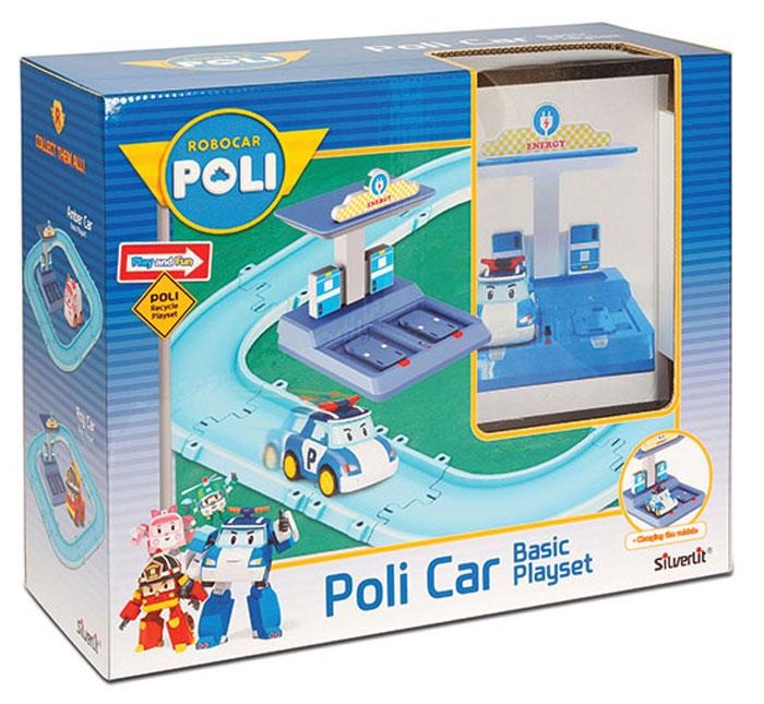 Robocar Poli Игровой набор Маленький трек с умной машинкой Поли