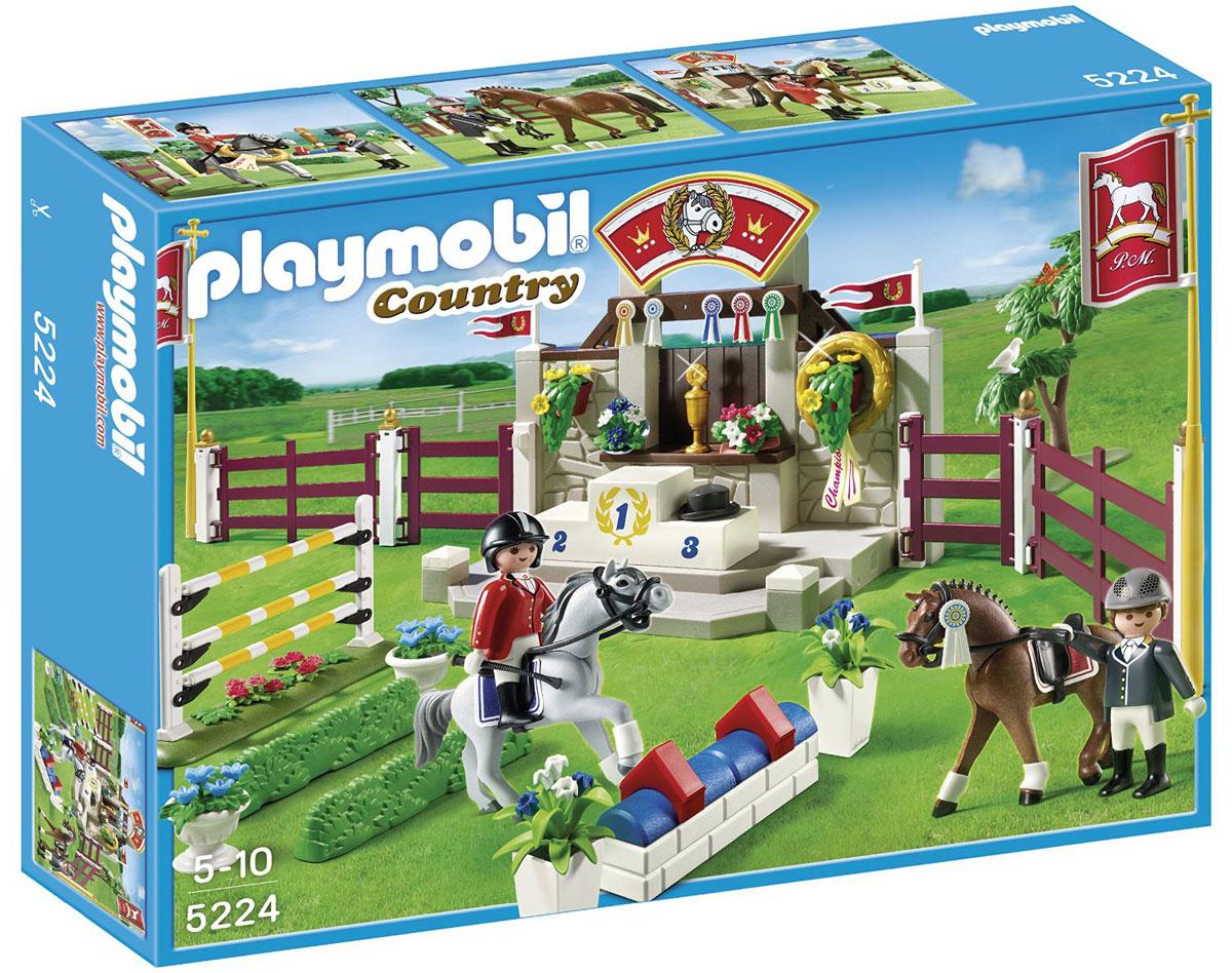 Playmobil Игровой набор Лошади Манеж для выездки и конкура