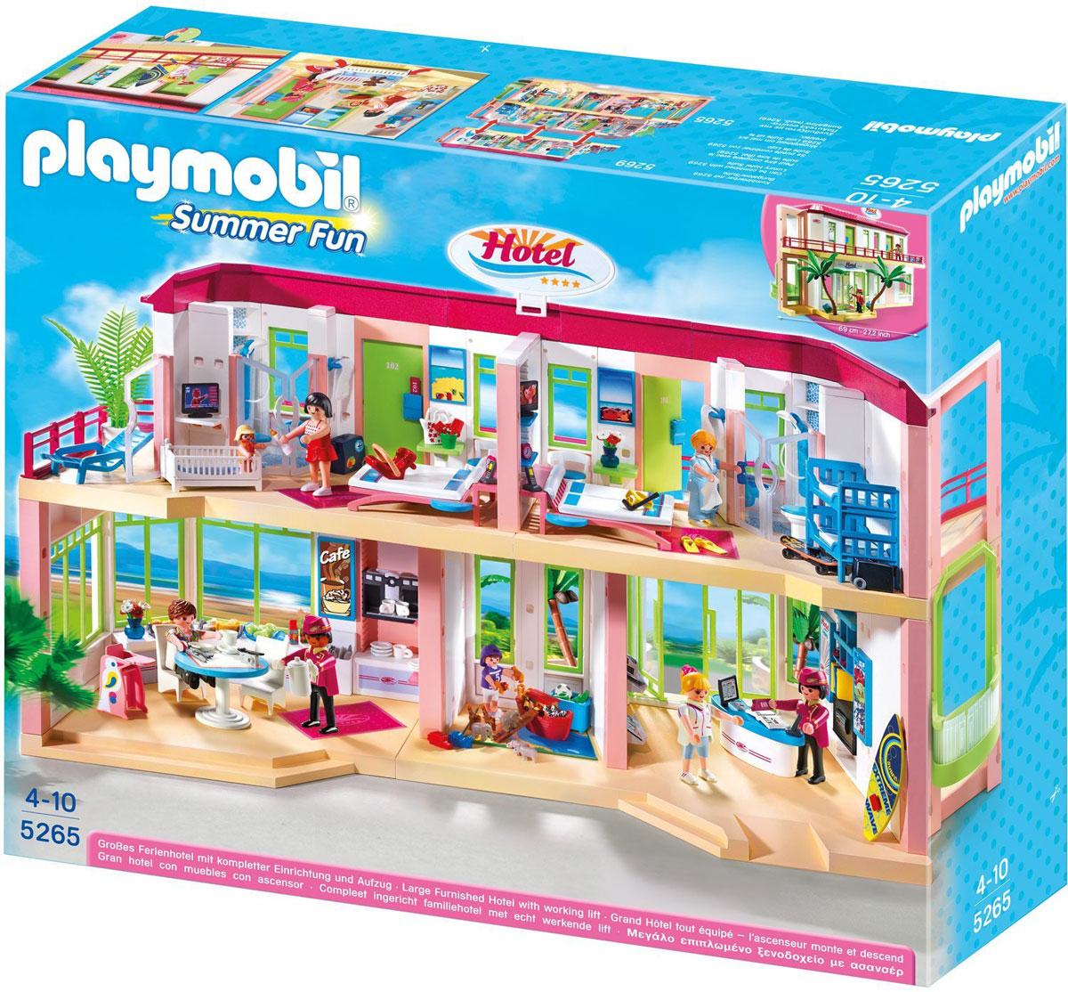 Playmobil Игровой набор Отель Большой меблированный отель